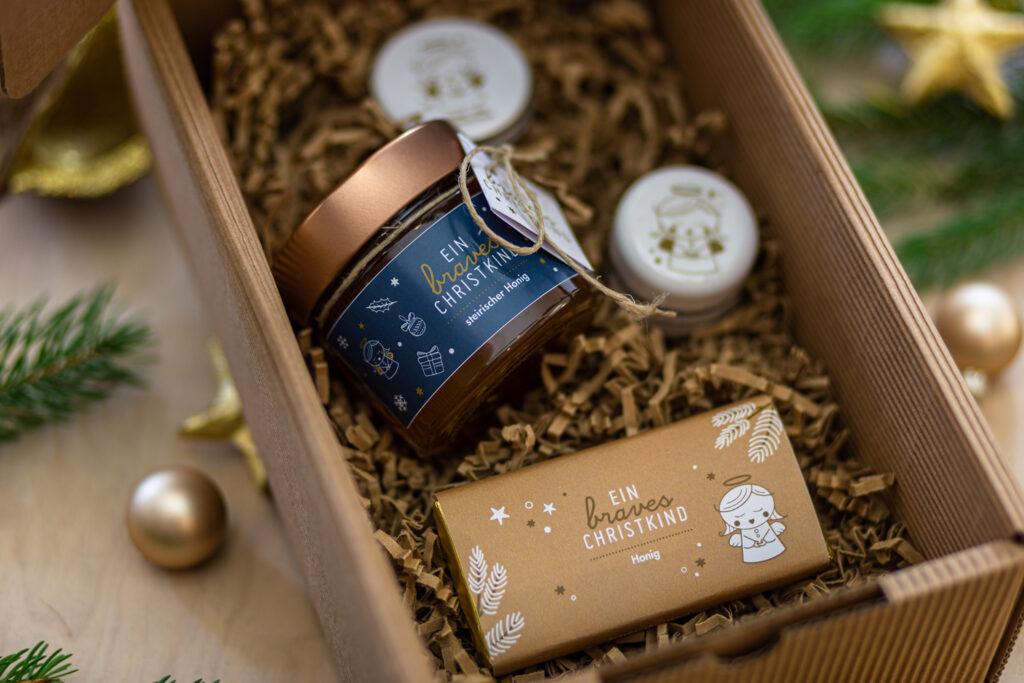 Schokolade Honig und Pflege-Produkte