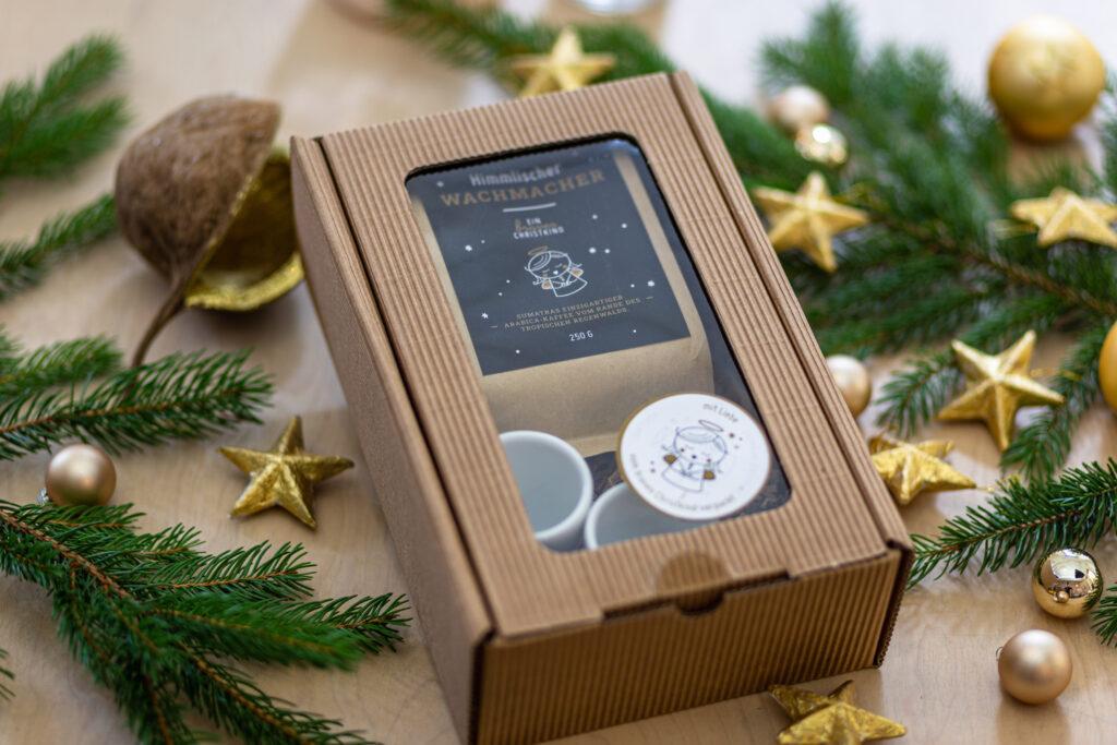 Wachgeküsst – Package für Kaffeeliebhaber BravesChristkind Produkt Kaffee Package 2
