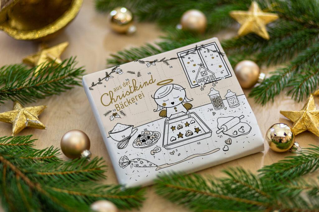 Adventskalender – Aus der Weihnachtsbäckerei BravesChristkind Produkt Kalender 2 bea fenster
